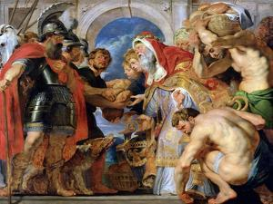 Abraham and Melchizedek, 1615-18 by Peter Paul Rubens