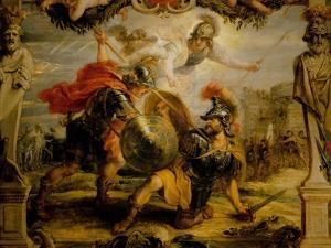Achille and Hector, 1630 by Peter Paul Rubens