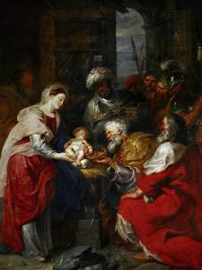 Adoration of the Magi by Peter Paul Rubens
