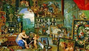 And Jan Brueghel: The Sight by Peter Paul Rubens
