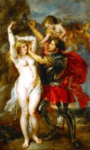 Andromeda Liberated by Perseus by Peter Paul Rubens
