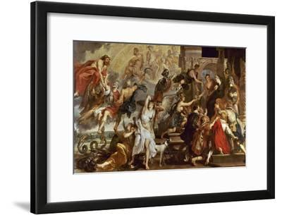 Apotheosis of Henry Iv of France And Regency of Maria of Medici