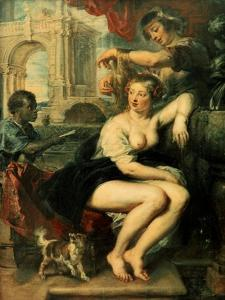 Bathsheba at the Fountain, C1635 by Peter Paul Rubens