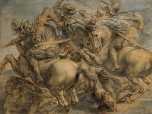 Battle of Anghiari by Peter Paul Rubens