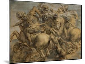 Battle of Anghiari by Peter Paul Rubens