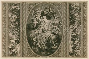 Ceiling of the Banqueting House in Whitehall by Peter Paul Rubens