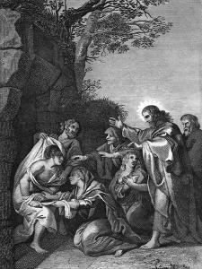 Christ Raising Lazarus, 1814 by Peter Paul Rubens