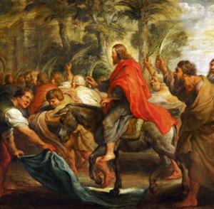 Christ's Entry into Jerusalem, 1632 by Peter Paul Rubens