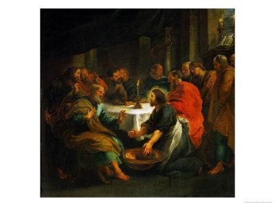 Christ Washing the Apostles' Feet, 1632