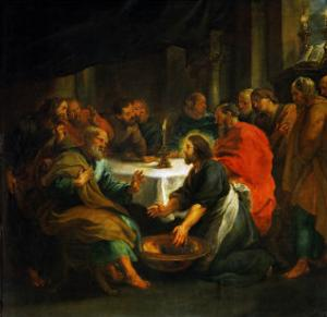 Christ Washing the Apostles' Feet, 1632 by Peter Paul Rubens