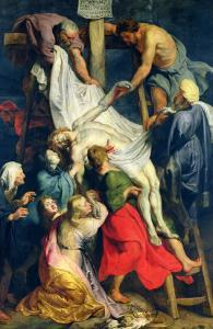 Descent from the Cross, 1617 by Peter Paul Rubens