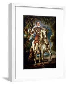 Equestrian Portrait of the Duke of Lerma (1553-1625) 1603 by Peter Paul Rubens