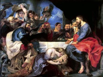 Feast in the House of Simon the Pharisee, Between 1618 and 1620