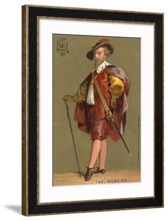 Peter Paul Rubens, Flemish Artist--Framed Giclee Print
