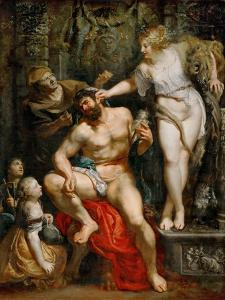 Hercules and Omphale by Peter Paul Rubens
