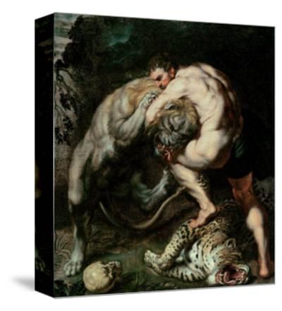 Hercules Fighting the Nemean Lion