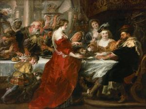 Herod's Feast by Peter Paul Rubens