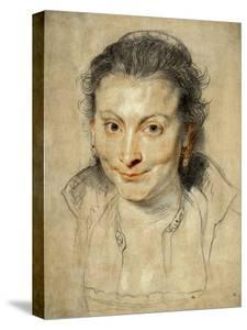 Isabella Brant, Rubens' First Wife, 1621 by Peter Paul Rubens