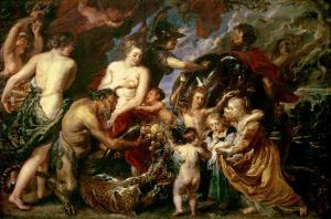 Minerva Protects Pax from Mars (Peace and War), 1629-30 by Peter Paul Rubens