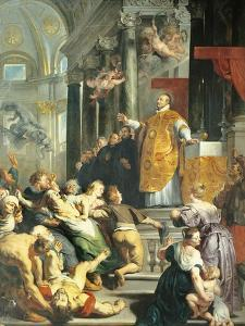 Miracle of St Ignatius of Loyola, 1618-19 by Peter Paul Rubens