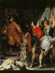 Mucius Scaevola Before Porsenna by Peter Paul Rubens