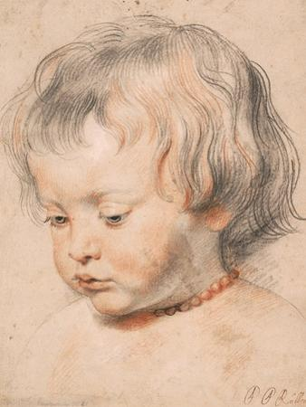 Nicolaas Rubens Wearing a Coral Necklace, Ca 1619