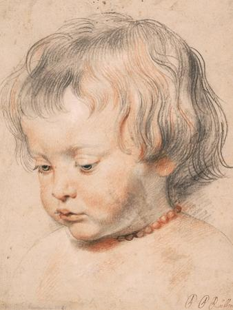 Nicolaas Rubens Wearing a Coral Neckless, c.1619-20 by Peter Paul Rubens