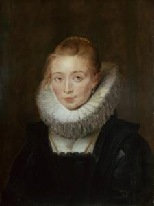 Portrait of Lady-In-Waiting to the Infanta Isabella, 1620d by Peter Paul Rubens