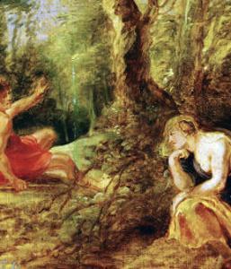 Procris and Cephalos (Ovid, Metamorphoses) by Peter Paul Rubens