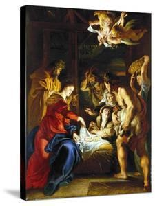 Rubens: Adoration, C1608 by Peter Paul Rubens