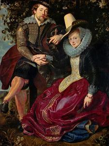 Rubens and His Wife Isabella Brant in the Honeysuckle by Peter Paul Rubens