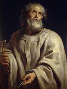 Saint Peter, c. 1611 by Peter Paul Rubens