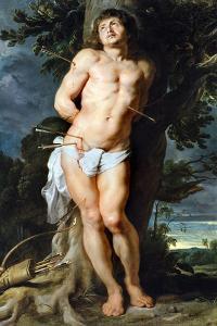 Saint Sebastian, C. 1618 by Peter Paul Rubens