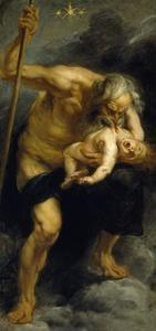 Saturn devouring his son, 1636-1637 by Peter Paul Rubens