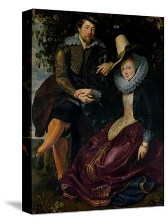 Self Portrait with Isabella Brandt, His First Wife, in the Honeysuckle Bower, circa 1609