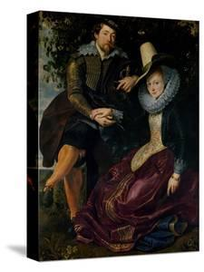Self Portrait with Isabella Brandt, His First Wife, in the Honeysuckle Bower, circa 1609 by Peter Paul Rubens