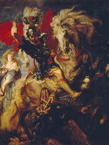 St. George and the Dragon, 1606/10 by Peter Paul Rubens