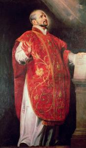 St. Ignatius of Loyola (1491-1556) Founder of the Jesuits by Peter Paul Rubens