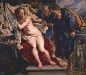 Susanna and the Elders by Peter Paul Rubens