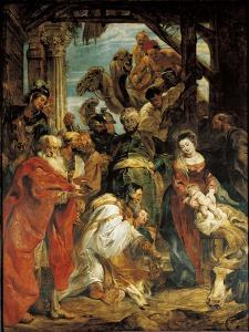 The Adoration of the Magi, 1624 by Peter Paul Rubens