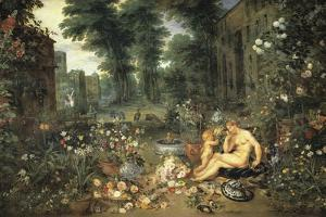 The Allegory of Smell by Peter Paul Rubens