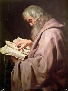 The Apostle Simon (Peter) by Peter Paul Rubens