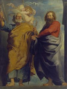 The Apostles St. Peter and St. Paul by Peter Paul Rubens
