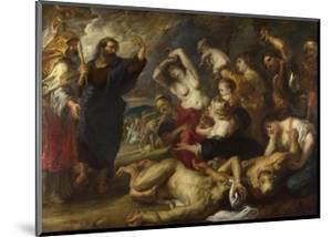The Brazen Serpent, 1635-1640 by Peter Paul Rubens