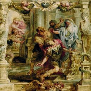 The Death of Achilles, 1630-1635 by Peter Paul Rubens
