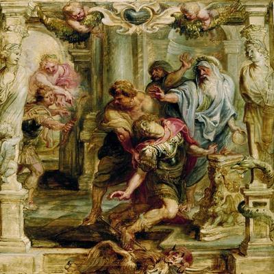 The Death of Achilles, 1630-1635