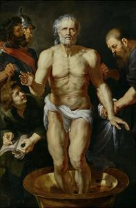 The Death of Seneca, 1612-1615 by Peter Paul Rubens