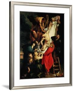 The Descent from the Cross. Central Panel, 1612-1614 by Peter Paul Rubens
