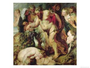 The Drunken Silenus, circa 1617-18 by Peter Paul Rubens