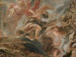 The Expulsion from the Garden of Eden by Peter Paul Rubens